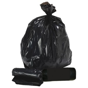 black storage bag