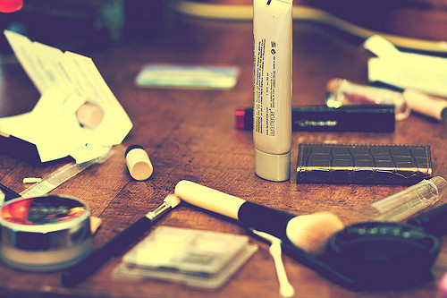Make-up storage tips